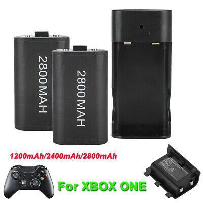 2400/2800mAh Rechargeable Battery Pack for Xbox ONE Controller Charging Station