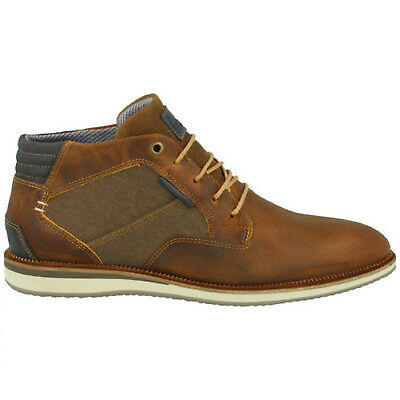 c1c12f4adf0df MEN'S BULL BOXER OX CAP-TOE B571-K2-5283A Cognac lace-up Oxford Boot ...