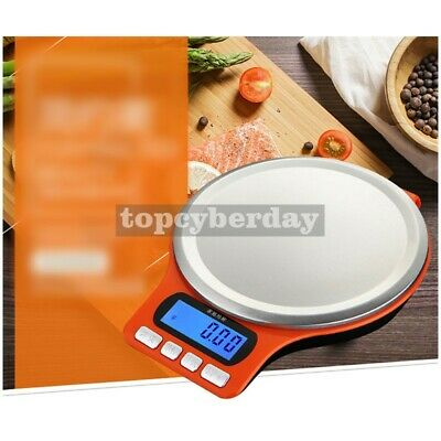 5KG LCD Digital Electronic Scale Kitchen Weight Stainless Steel Promotional #US