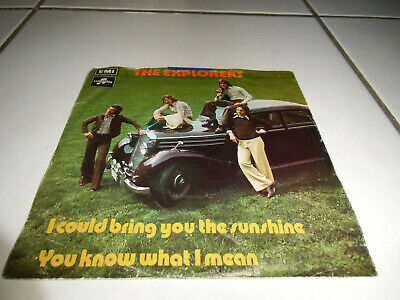 """7""""Single* Explorers - I Could Bring You The Sunshine *GUT* TOP BEAT/POP/ROCK"""