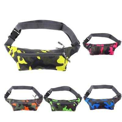 Running Fanny Pack Water Resistant Cycling Climbing Camping Hiking Zip Bags