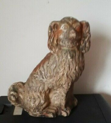 Architectural Salvage: Staffordshire Vintage,dog,Garden Statue,Nicely Weathered