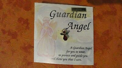 12 Guardian Angel on Your Shoulder Pins For Gifts, Genuine Austrian Crystal