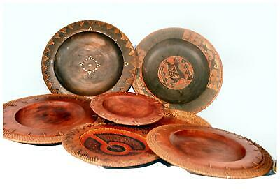 Fair Trade Indonesian Wooden Dinner / Serving Plates - choose from selection