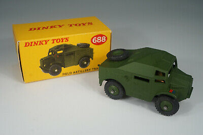 1950's  Dinky Toys 688 Field Artillery Tractor Lagerfund  - NOS / MIB