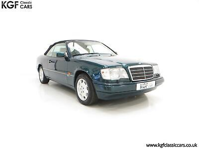 An Outstanding Mercedes-Benz W124 E320 Sportline Cabriolet with 15,155 Miles