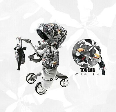 Colourpack to fit Stokke Xplory v3-v5 + Crusi and Trailz! TOUCAN! :)