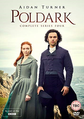 Poldark Complete Series Four DVD NEW