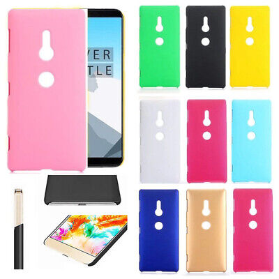 For  Sony Xperia XZ2 XA Ultra Candy Color Slim Matte Hard Case Cover Skin Shell