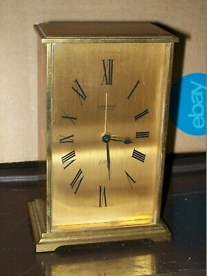 Vintage Looping 15 Jewels 8 Days Alarm Clock/Wind-Up/Perfect Working Condition