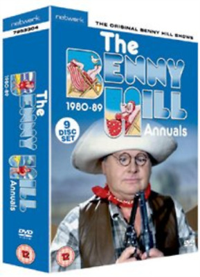 Benny Hill: The Benny Hill Annuals 1980-1989 DVD NEW