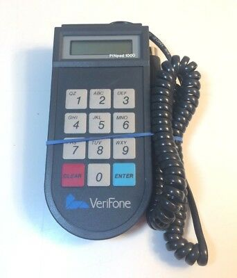 VeriFone PINpad 1000 for VeriFone Credit Card Reader - UNTESTED
