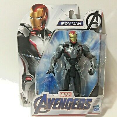 AVENGERS ENDGAME MCU IRON MAN 6in Action Figure Quantum Team Suit IN STOCK