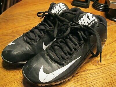 innovative design ffeea 03932 Nike Alpha Fast Flex Football Shoes Black 3 4 Cut – Size 9.