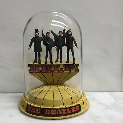 The Beatles - Franklin Mint Help Ltd. Edition Music Dome From 1997/8. Perfect!!