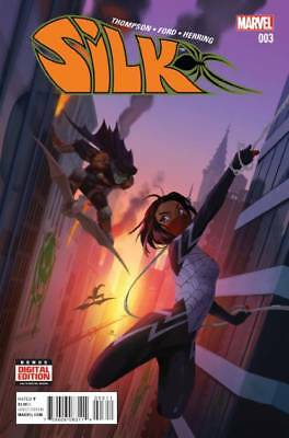 SILK #3 1st print Marvel Comics NM 2016