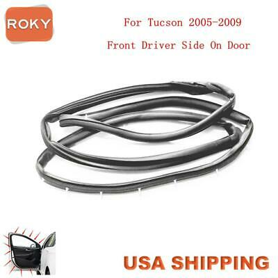Door Opening Weatherstrip Seal Quality Front Left For Hyundai Tucson 2005-2009