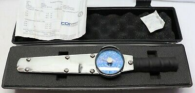 """CDI 3/8"""" Drive, 0 to 600 In/Lb, Dial Torque Wrench 10 In/Lb Graduation, 15"""" OAL"""