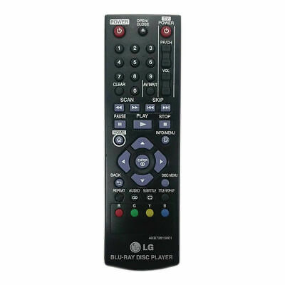 New Replacement BlueRay Remote Control For LG BP125 BP200 BP220 BP320 BP325W