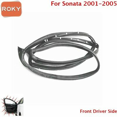 Door Opening Weatherstrip Seal Quality Front Left For Hyundai Sonata 2002-2005