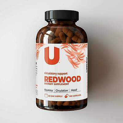 REDWOOD: 100% Natural Nitric Oxide Booster Supplement For Improved Blood Flow