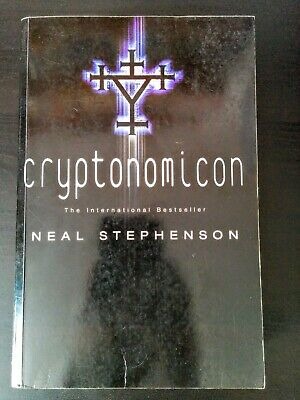 Cryptonomicon by Neal Stephenson (Historical Science Fiction Epic, Paperback)
