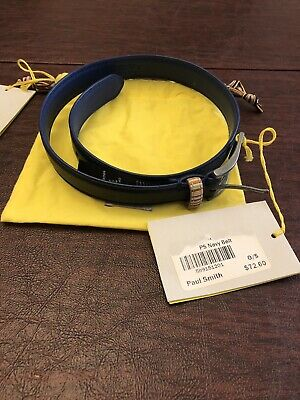 Paul Smith Junior Boy's Calfskin Leather Belt Size O/S Brand New with Tags