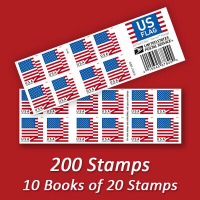 200 USPS FOREVER STAMPS, Cheap First Class Postage!