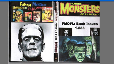 Famous Monsters Of Filmland Collection On DVD-ROM
