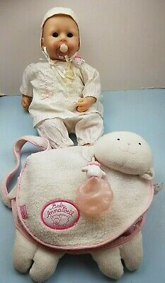 Zapf Creations Baby Annabell with Dummy Changing bag with accessories and bottle
