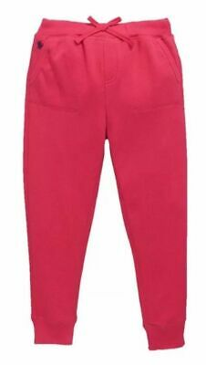 Girl's Ralph Lauren Pink Fleece Jogging Jogger Bottoms Aged 4,5,7,8/10,12/14 NEW