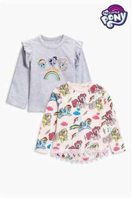 NEXT My Little Pony Top Girls 5-6 Years Long Sleeves Two Pack BNWT Rainbow