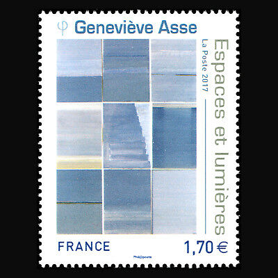 Frankreich 2017 - Genevieve Asse Kunst Painitng - MNH