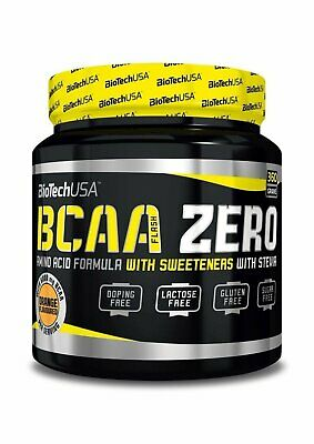 NEW Biotech USA BCAA Zero Amino Acid Muscle Building Flavoured Powder Formula