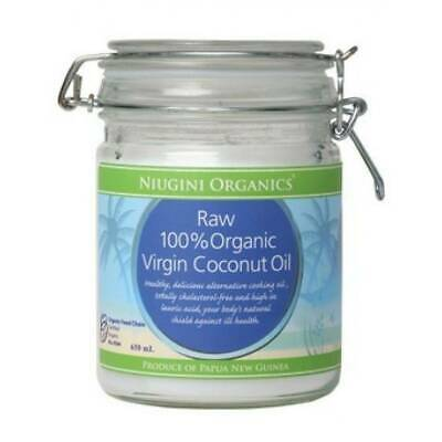 100% Raw Organic Coconut Oil