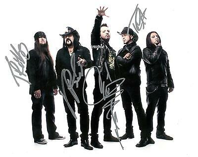 Hellyeah Band Reprint Autographed Signed 8X10 Picture Photo Rp Collectible