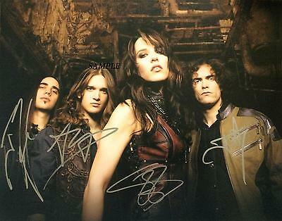 Halestorm Band #1 Reprint Autographed Signed Picture Photo 8X10 Lzzy Hale Gift