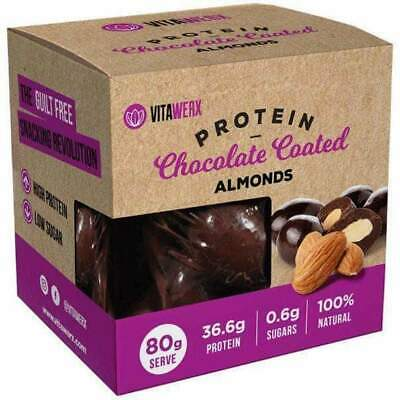 Protein Chocolate Coated Almonds