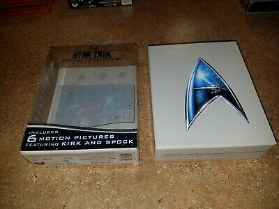 Star Trek: Original Motion Picture Collection w/ Slip Cover (Blu-ray, 7-Disc Set