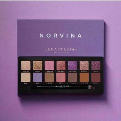 Brand New ANASTASIA BEVERLY HILLS NORVINA Eye shadow Make Up Palette UK Seller