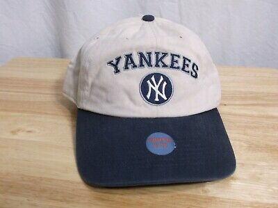 2a076474f1776 New York Yankees Cap Hat Strapback Twins Enterprise S M Rare Youth 8-20