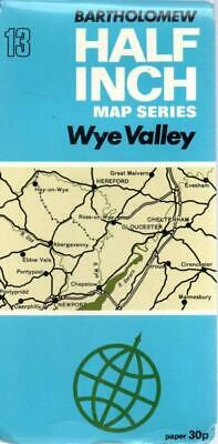 Bartholomews Revised Half Inch Wye Valley Sheet 13 - Acceptable - Map