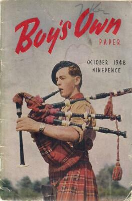 Boys Own Paper : October 1948 - Boys Own Paper - Acceptable - Magazine