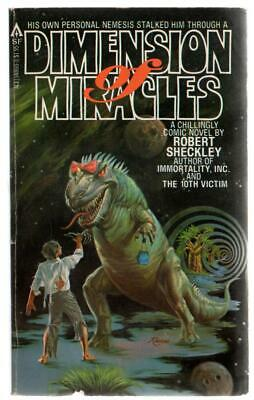 Dimension of Miracles - Robert Sheckley - Ace Books - Acceptable - Paperback