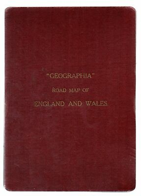 Geographia Road Map of England and Wales - Geographia Map - Good - Map