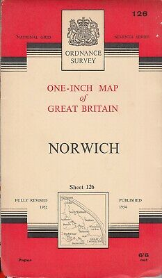 Ordnance Survey One-Inch Map Of Great Britain, ... - Good - Map