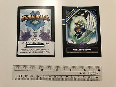 Brawlhalla - Metadev Bodvar Code / Card / Legend Skin - PC Only - PAX