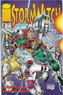 Stormwatch Issue 3 July 1993 - Brandon Choi & Sean Ruffner - Acceptable - Comic