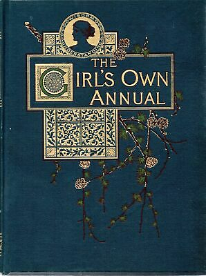 The Girls Own Annual. Volume 15: Oct 1893 - Girls Own Annual - Good - Hardcover