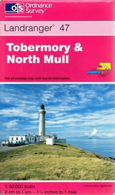Tobermory and North Mull - Ordnance Survey - Ordnance Survey - Acceptable - Map